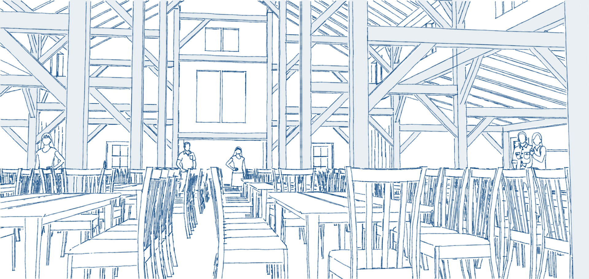 Barn Lights ceiling dining area tables pen