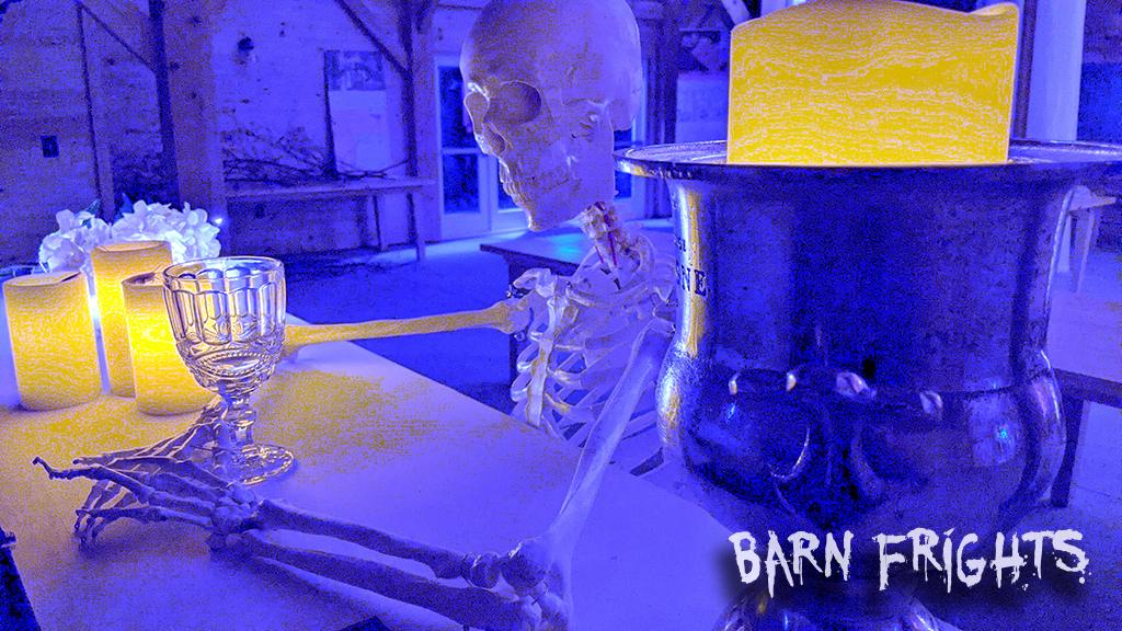 barn frights halloween image