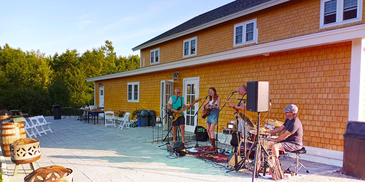 concerts on the patio in summer